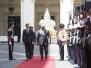 President John Mahama in Rome, Italy
