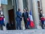 President Mahama meets President Francois Hollande