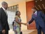 Vice President Amissah-Arthur\'s visit Lome, Togo