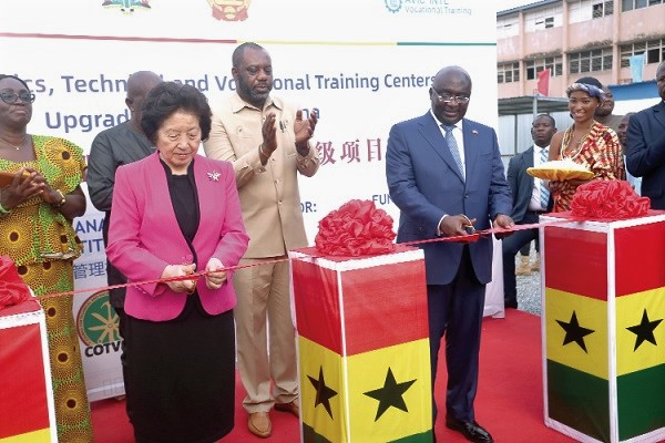 Vice-President, Chinese Vice-Premier Cut Sod For Upgrade Of 15 Educational Institution