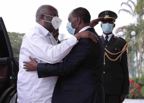 Ivory Coast President And Rival In First Meeting Since Civil War