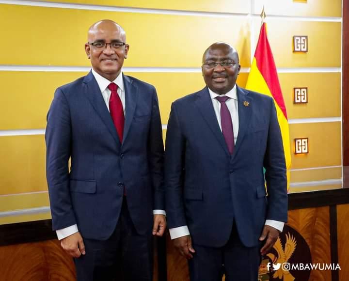 Ghana And Guyana Hold Bilateral Talks On Petroleum